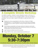 Who Owns the Road? A Complete Streets Workshop