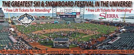 2013 SF SNOWBOMB SKI & SNOWBOARD FESTIVAL
