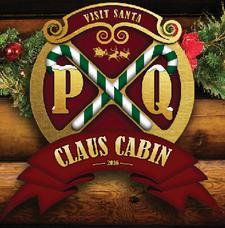 Princes Quay Claus Cabin logo