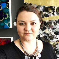 Vera Blagev - London Abstract Artist (Vera Vera On The Wall) logo