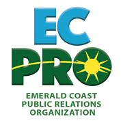 Emerald Coast Public Relations Organization logo