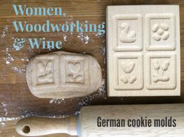 Collab Class: Hand-carved German cookie molds...