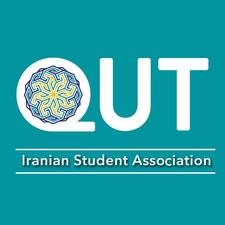 QUT Iranian Student Association and Iranian Society of Queensland logo