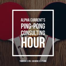 Ping Pong Consulting by Alpha Current logo