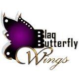 Blaq Butterfly Wings logo