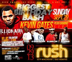 BIGGEST BIRTHDAY BASH: KEVIN GATES PERFORMING LIVE @...