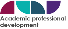 Open University, Academic Professional Development logo