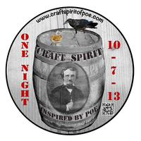 Craft Spirit of Poe: tickets must be purchased in...