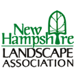 Dale Squires of Belknap Landscape Company, representing the NH Landscape Association logo