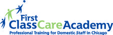 First Class Care, Inc. and The Charles MacPherson Academy for Butlers and Household Managers logo