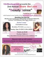 "2nd ANNUAL SHARE THE LOVE "" BEAUTY SOIREE"" EVENT"