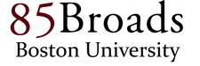 85 Broads Boston University logo