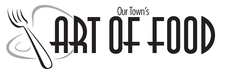 Our Town's The Art of Food logo
