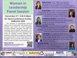 Women in Leadership Seminar Series Panel Session