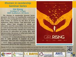 Women in Leadership Seminar Series: Girl Rising