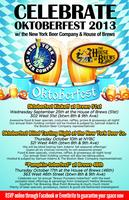 Oktoberfest Blind Tasting Night at the New York Beer Co...