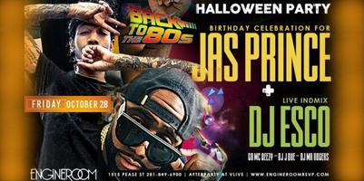 RSVP NOW! DJ Esco LIVE! Jas Prince 80's Halloween...
