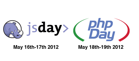 phpDay and jsDay 2012
