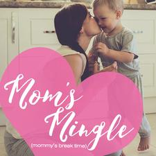 M.O.M Moms Out Mingling logo
