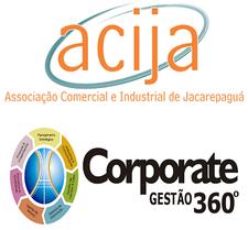 Corporate Gestão 360° & ACIJA logo
