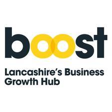Boost; Lancashire's Business Growth Hub logo