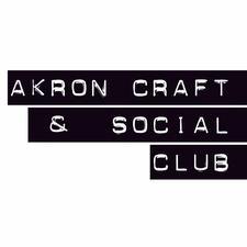 Akron Craft + Social Club logo
