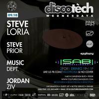 09.18 // Discotèch feat. Steve Loria & Steve Prior