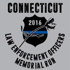 CT LEO Memorial Run logo