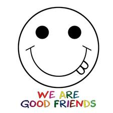 We Are Good Friends logo