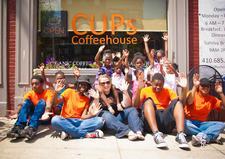 CUPs Coffeehouse  logo