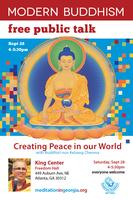 Free Public Talk on Modern Buddhism at the King Center