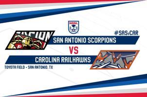 Tailgate Party & Scorpions vs Carolina Railhawks