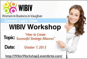 WIBIV Workshop: Successful Strategic Alliances - How...