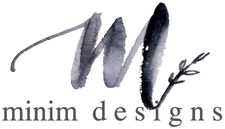 Minim Designs and The Brake Room logo