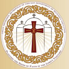 Greek Orthodox Metropolis of Chicago Department of Religious Education logo