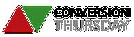 Conversion Thursday logo
