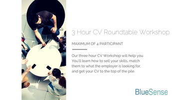 3 HOUR ROUNDTABLE CV WORKSHOP