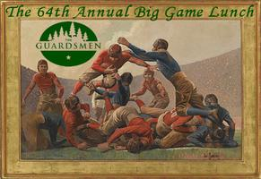 The 64th Annual Guardsmen Big Game Luncheon