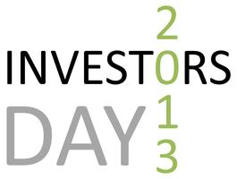 Investors Day 2013
