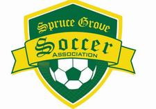 Spruce Grove Soccer Association logo