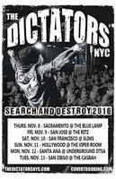 The Dictators NYC @ Slim's w/ D.O.A., Motor 66,...