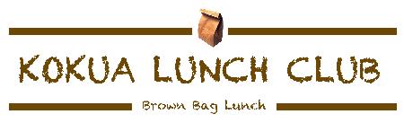 October Kokua Lunch Club