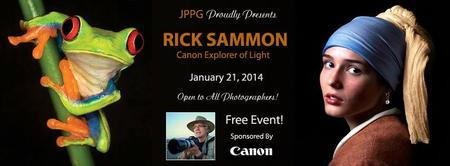 An Evening with Rick Sammon - Canon Explorer of Light