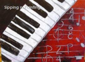 Sip N' Paint Piano Keys Tues July 17th 6pm
