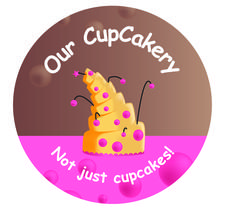Our CupCakery logo