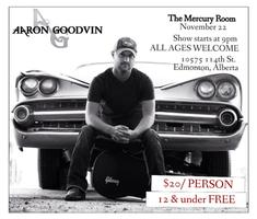 Aaron Goodvin at The Mercury Room