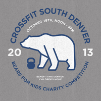 2nd Annual CrossFit South Denver Bears for Kids...