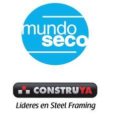 Mundo Seco / Construya logo