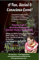 iGreenWoman Magazine: A Fun, Social & Conscious Event!