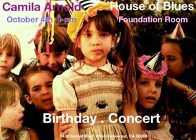 Camila Arnold Birthday - Concert